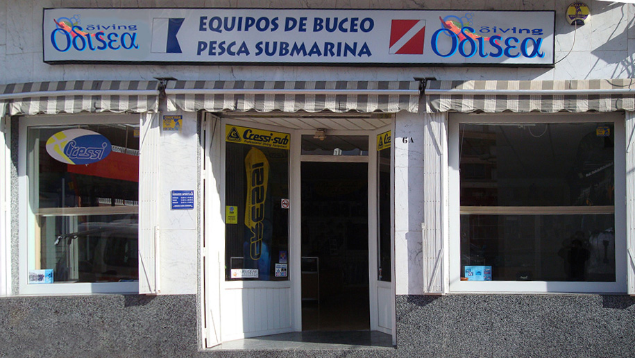 Odiseadiving Tienda De Buceo En Torrevieja